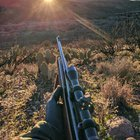 Hunting Javelina with my Dad's 1979 Remington 700, and 4x Redfield scope.