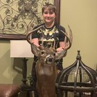 Got him back from taxidermy he scored 158