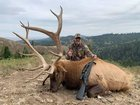 """Update from my dad's Idaho hunting trip. His friend got this unit the following day. Pushing a ton! His friend in the picture is 6'3"""" and maybe 250 lbs."""